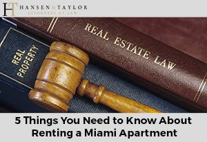 5 Things You Need to Know About Renting a Miami Apartment