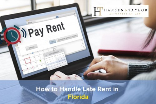 late rent in florida